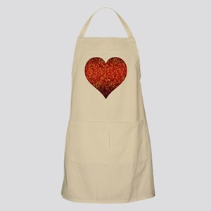 Apron Heart Glitter 4