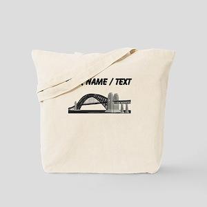 Custom Suspension Bridge Tote Bag