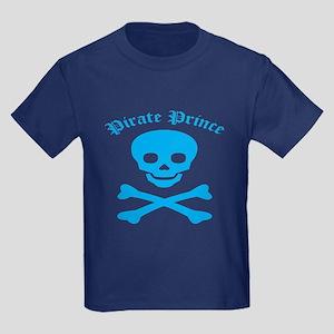 Pirate Prince Kids Dark T-Shirt