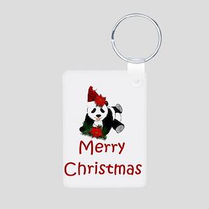 merry christmas panda Keychains