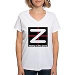 RITZ Favicon Logo Women's V-Neck T-Shirt