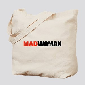 Mad Woman Tote Bag