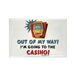 Out of my way! Rectangle Magnet (10 pack)