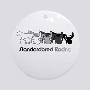 Racing Silhouette Ornament (Round)