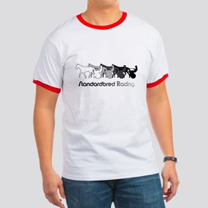 Racing Silhouette Ringer T