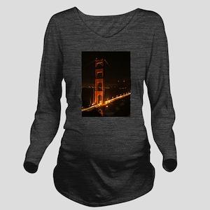 Golden Gate Bridge North Tower Long Sleeve Materni