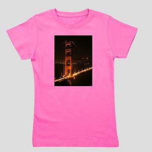 Golden Gate Bridge North Tower Girl's Tee