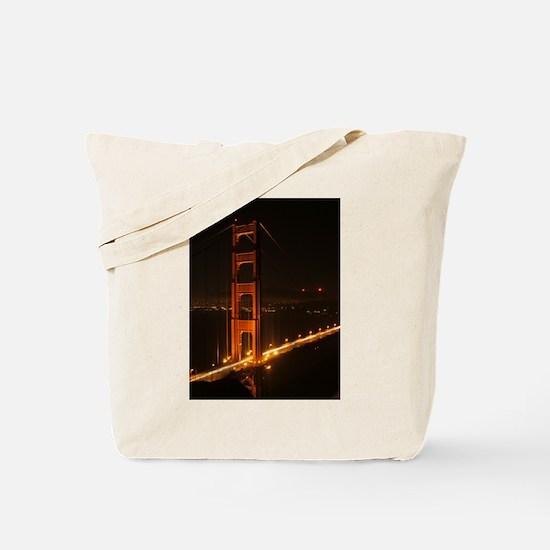 Golden Gate Bridge North Tower Tote Bag