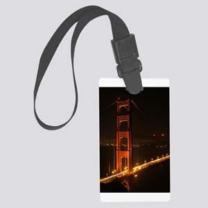 Golden Gate Bridge North Tower Luggage Tag