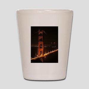 Golden Gate Bridge North Tower Shot Glass