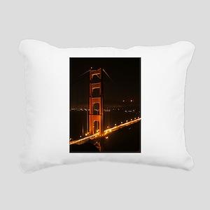Golden Gate Bridge North Tower Rectangular Canvas