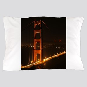 Golden Gate Bridge North Tower Pillow Case