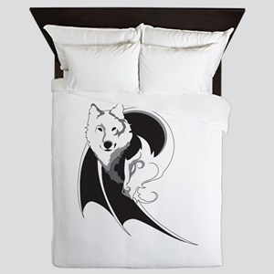 Wolf & Dragon Queen Duvet