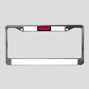 Iowa Nickname #1 License Plate Frame