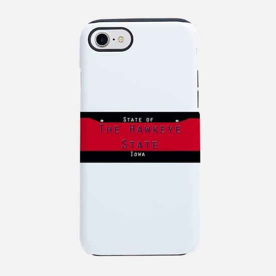 Iowa Nickname #1 iPhone 7 Tough Case