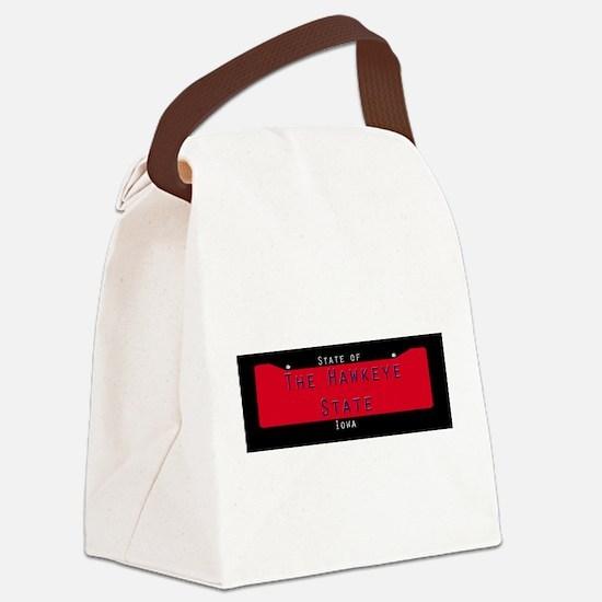 Iowa Nickname #1 Canvas Lunch Bag