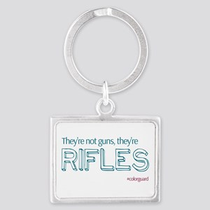 Color Guard Rifles Keychains