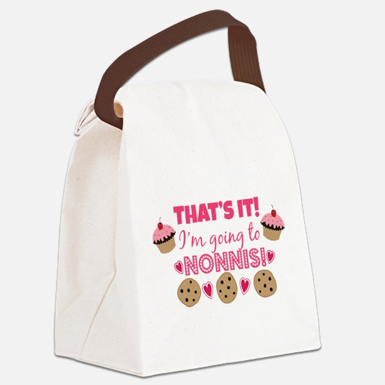 That's it! I'm going to Nonni's! Canvas Lunch Bag