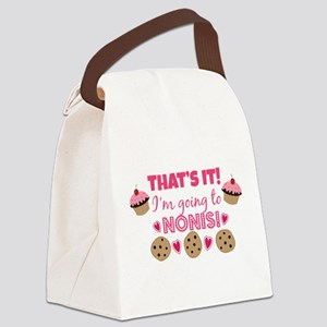 That's it! I'm going to Noni's! Canvas Lunch Bag