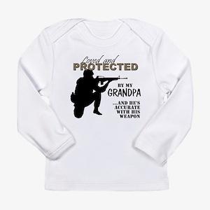 Loved Protected Grandpa Long Sleeve T-Shirt