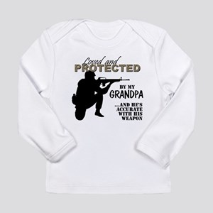 Loved Protected Grandpa Long Sleeve T-Shirt