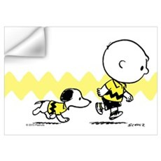 Charlie Brown And Snoopy - Classic Wall Art Wall Decal