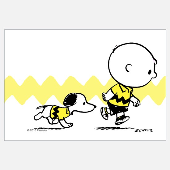 Charlie Brown And Snoopy - Classic Wall Art