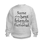 Fictional Friends Kids Sweatshirt