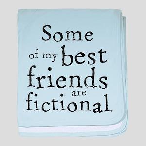 Fictional Friends baby blanket