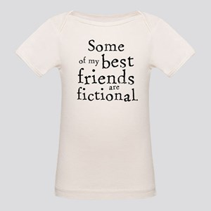 Fictional Friends Organic Baby T-Shirt
