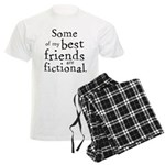 Fictional Friends Men's Light Pajamas