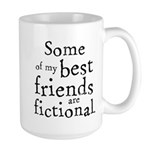 Fictional Friends Large Mug