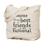 Fictional Friends Tote Bag