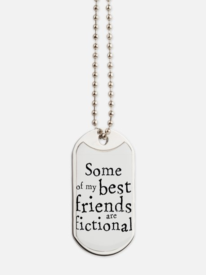 Fictional Friends Dog Tags