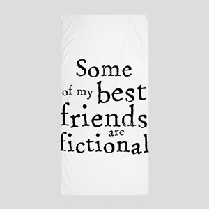 Fictional Friends Beach Towel