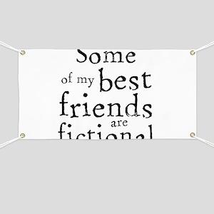 Fictional Friends Banner