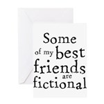 Fictional Friends Greeting Card