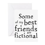 Fictional Friends Greeting Cards (Pk of 20)