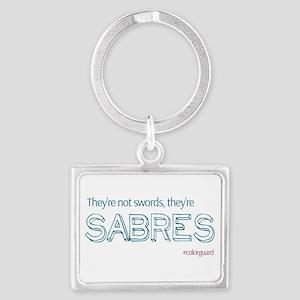Color Guard Sabres Keychains
