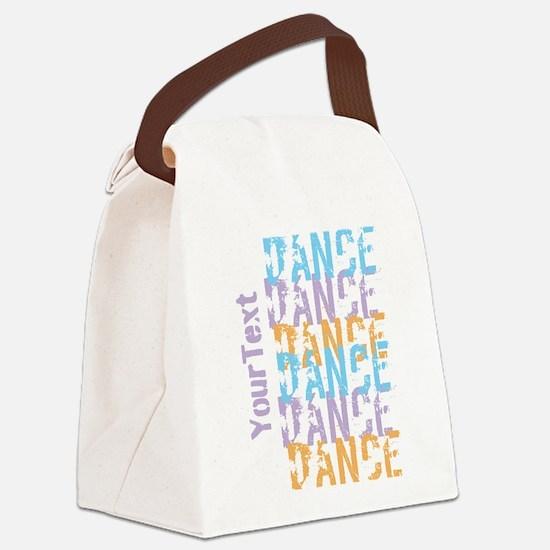 DANCE Optional Text Canvas Lunch Bag