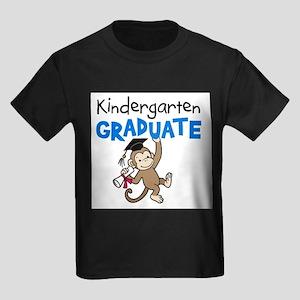 Kindergarten Graduate - Monkey (Blue) T-Shirt