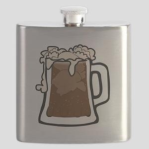 Root Beer Float Flask
