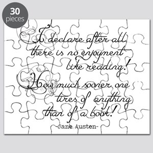 No Enjoyment Like Reading Puzzle