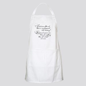 No Enjoyment Like Reading Apron