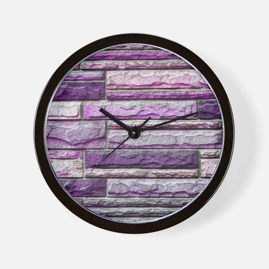 Siding 3 Wall Clock
