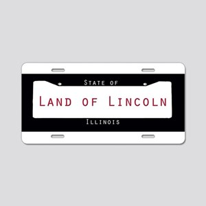 Illinois Nickname #2 Aluminum License Plate