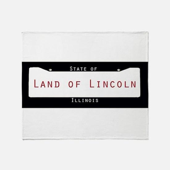 Illinois Nickname #2 Throw Blanket