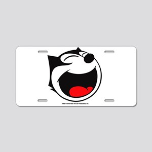 Felix Laughing Aluminum License Plate
