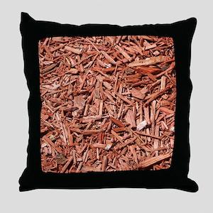 Mulch 1 Throw Pillow
