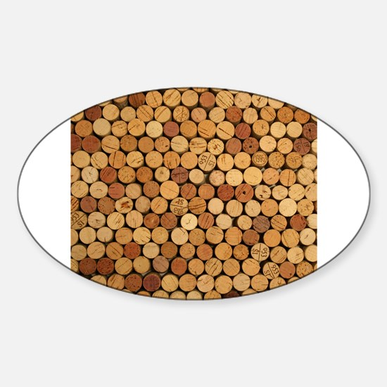 Wine Corks 6 Decal